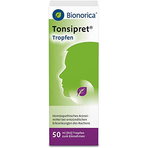 Tonsipret Tropfen bei Erkrankungen des Rachens, 50 ml Lösung