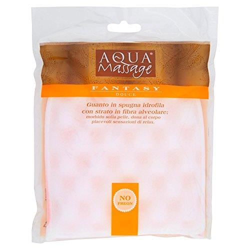 Aqua Massage Gant en éponge hydrophile