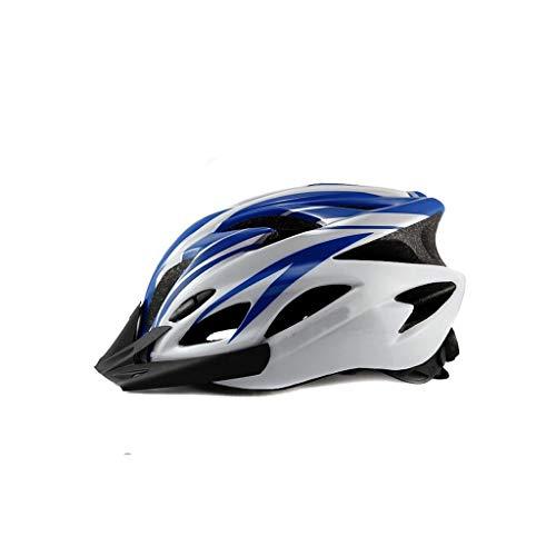 LLKK Cascos de Bicicleta,Sombreros de Bicicleta para Hombres y Mujeres,Equipo de Bicicleta de montaña,Equipo de Ciclismo,Talla 58-63cm (1 artículo)