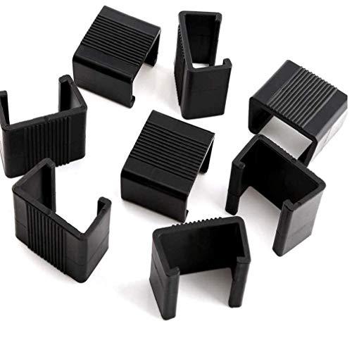 Runfun Clips De Muebles De Mimbre Al Aire Libre Patio Clip De Plástico Sofá Conectar Abrazaderas para Sillas Muebles De Jardín Sofá Sofá 10pcs 4.25cm Tiesto