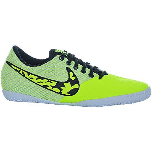 Nike Elastico III Fussballschuhe Kinder Schuhe Hallenschuhe Volt/Black/White, Schuhgröße:32