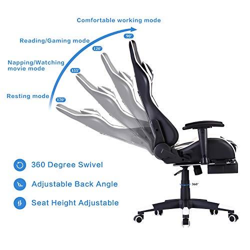 WENSIX Ergonomischer Gaming-Stuhl PC Bild 5*