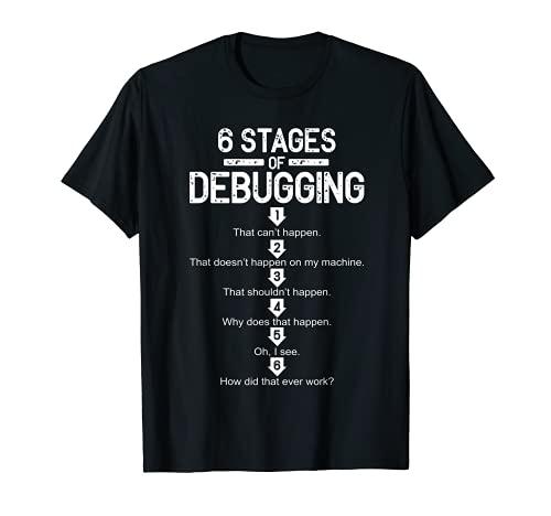 Programmer Debugging Coder Nerd Programming Gift T-Shirt