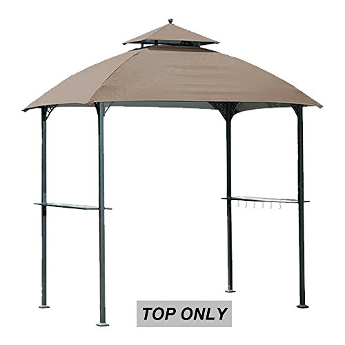 ABCCANOPY 8'x5' Replacement Canopy Roof for Windsor Grill Gazebo Model L-GG054PST Sold at BigLots