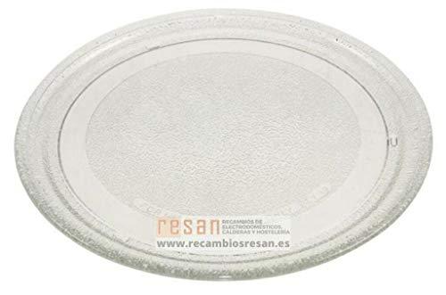 LG Drehteller aus Glas für Mikrowellen, Durchmesser 24,5 cm, MS192WG MS202 MS207 MS2083 MS205 MS197 MH602W MG402T
