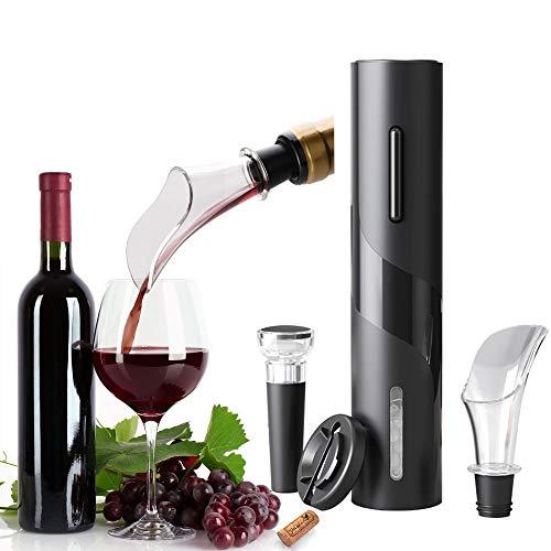 Sacacorchos eléctrico, Profesional Automatico abridor de vino electrico4 en 1, Abridor de...