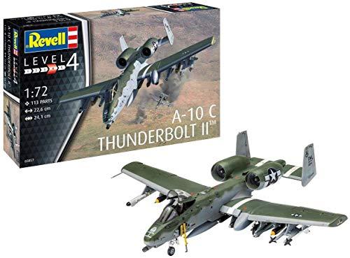 Revell 03857 - Maqueta de avión A-10 A/C Thunderbolt II (sin lacar)