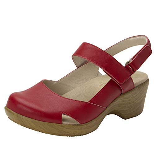 Alegria Tarah Womens Shoe Red 10 M US
