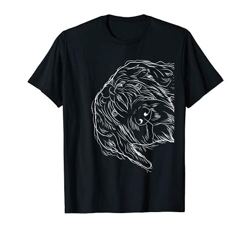 Gracioso perro Grifón de pelo duro Camiseta