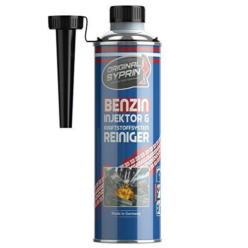 SYPRIN Benzinreiniger - Injektor Kraftstoffsystem Benzin-Systemreiniger Einspritzdüsen-Reiniger Einspritzsystem Benzin Reiniger 500 ml