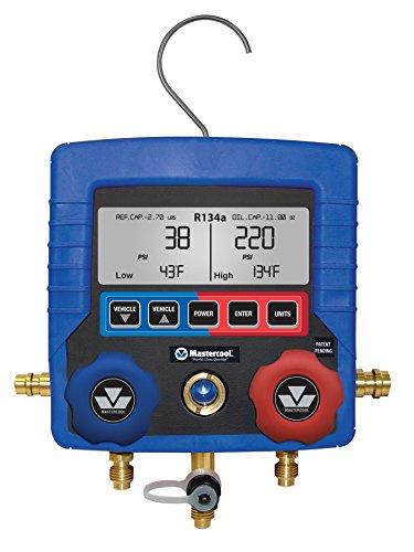 MASTERCOOL Dual R134a/R1234yf Digital Manifold, Blue (99134-AR)