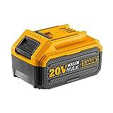Ingco Fbli2002e - Batería de litio de 20 V y 4 Ah para herramientas eléctricas Ingco