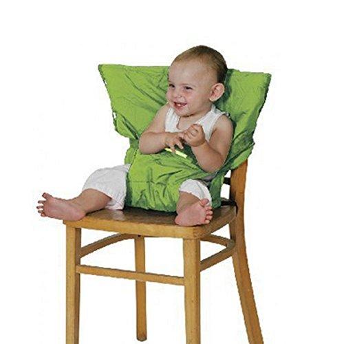 Millya Housse de chaise haute portable pour bébé Vert