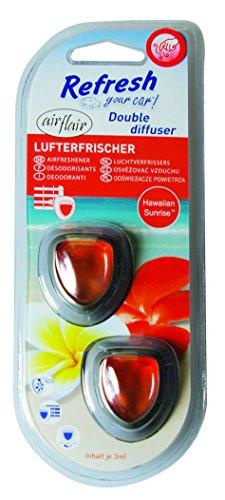airflair AZLUF880 Lufterfrischer, Refresh Your Car' Double Diffuser Hawai, Anzahl 2