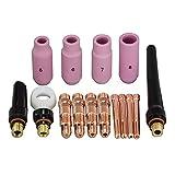 TIG Collet corpo Ceramica Ugelli TIG Back Cup Fit Kit DB SR WP17 18 26 TIG torcia Accessori di consumo 16pcs