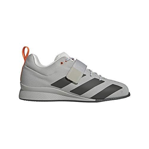 adidas Adipower Weightlifting II, Zapatillas Halterofilia Hombre, GRIMET/TIELEY/NARANJ, 40 EU