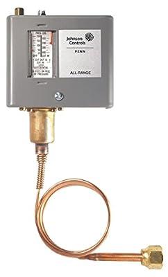 Johnson Controls P70CA-3C Pressure Control, High, 50 to 500 Psi
