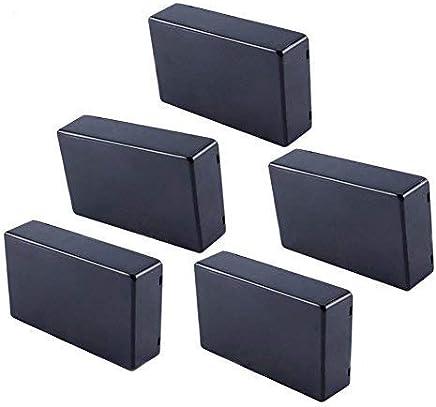 5pcs Plastic Cover Project Electronic Enclosure Instrument Case 100x60x25mm for DIY Power Junction Box