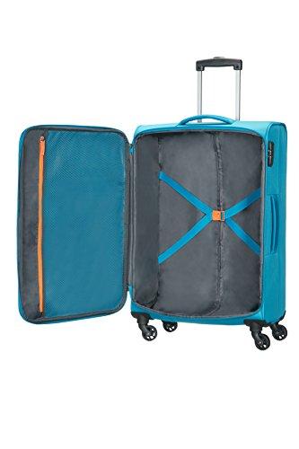 American Tourister - FUNSHINE - Spinner 66 cm, 63.5L, Ocean Blue