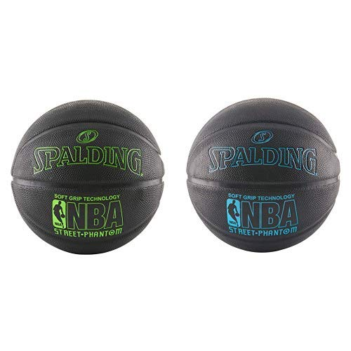 Fantastic Deal! Spalding 71024 NBA Street Phantom Outdoor Basketball, Neon Green/Black and Spalding ...