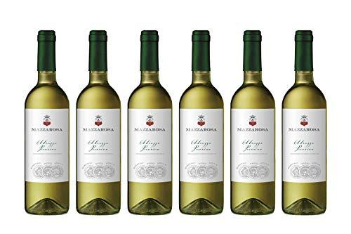 Vino Bianco Pecorino DOC 2020 - Cantine Mazzarosa - Box 6 bottiglie 0,75 L