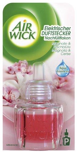 Air Wick Duftstecker Magnolie & Kirschblüte Nachfüller 19ml, 3er Pack (3 x 19 ml)