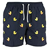 MC2 Saint Barth Costume Boxer Uomo MOD. GUSTAVIA Embroidery Ducky - XL