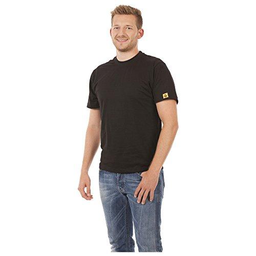 Warmbier ESD-T-Shirt, Größe L, Farbe schwarz