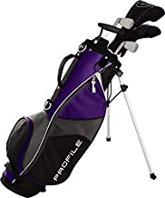 Wilson Golf Profile JGI Junior Complete Golf Set — Medium, Purple, Right Hand