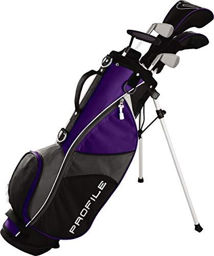 Wilson Youth Profile JGI Complete Golf Set - Right Hand, Medium, Purple