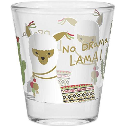 HAPPYLIFE 45547 Schnapsglas »Lama«