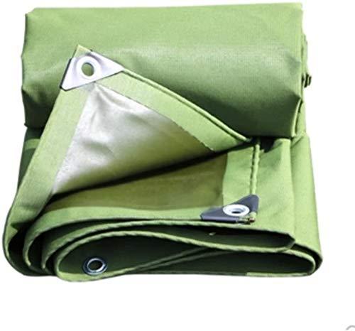 NGXIWW Tent Tarpaulin Robuuste Beschermende Cover, Canvas Auto Cover Waterdichte Tuin Cover voor Bloemenbedden Tent Accessoires UV en Weerbescherming Cover met Ogen