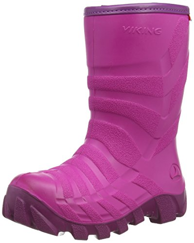Viking ULTRA 2.0 Gummistiefel 2.0, Pink (Fuchsia/Purple), 24 EU (7 UK)