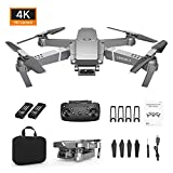 Kingko Drone x Pro 2.4G Selfie FPV WiFi avec caméra Pliable 4K HD Quadricoptère RC RTF Drone avec caméra Haute définition Distance de contrôle à Distance: 80-100 m (2 x 3.7 V 800 mAh)