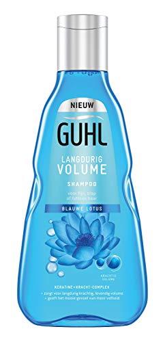 Guhl Langdurige Volume Shampoo - met Blauwe Lotus - voor fijn, slap en futloos haar - 250 ml