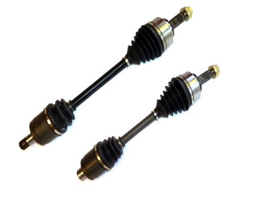 Price comparison product image DTA HO23412326 Front Left Right Pair - 2 New Premium CV Axles (Drive Axle Assembly) Compatible with 2007-2010 Honda Odyssey