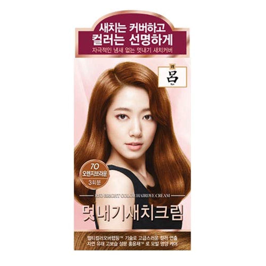 水星承認する見てアモーレパシフィック呂[AMOREPACIFIC/Ryo] ブライトカラーヘアアイクリーム 7O オレンジブラウン/Bright Color Hairdye Cream 7O Orange Brown