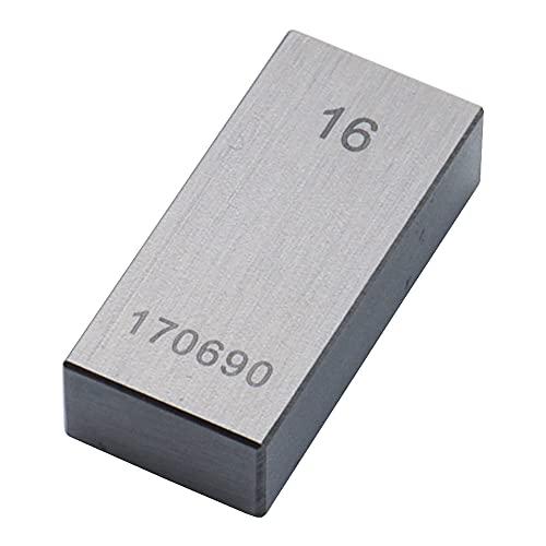 新潟精機 SK ブロックゲージ 0級相当品 バラ品 16.00mm GB0-1600