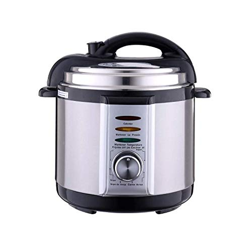 VPLLEX Instant Pressure Pot 14-in-1, Stainless Steel Electric Rice Cooker, Slow Cooker, Steamer, Saute, Yogurt Maker, Egg Cook, Sterilizer, Warmer (Black)