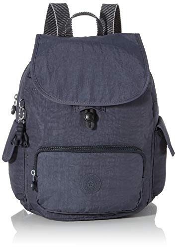 Kipling City Pack S, Women's Backpack, Grey (Night Grey), 32x37x18.5 cm (B x H T)