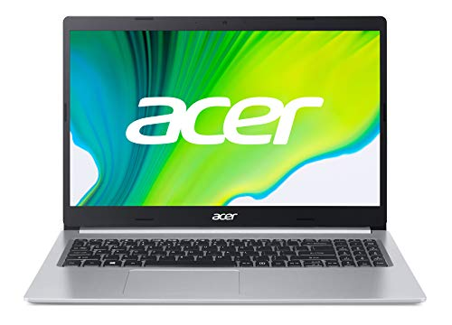 Acer Aspire 5 (A515-44-R0NR) 39,6 cm (15,6 Zoll Full-HD IPS matt) Multimedia Laptop (AMD Ryzen 5 4500U, 8 GB RAM, 256 GB PCIe SSD, AMD Radeon Graphics, Win 10 Home) silber