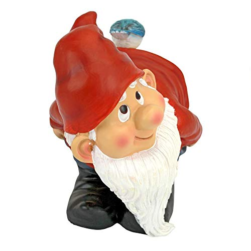 Design Toscano Loonie Moonie Bare Buttocks Garden Gnome Statue: Medium - 5
