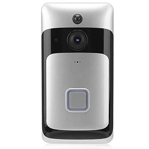 Timbre de puerta con videoportero WIFI, con IR-CUT de visión amplia de 720P y 135 grados, detección de movimiento, video remoto de APP e intercomunicador bidireccional de voz