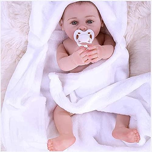 MWKL Las muñecas recién Nacidas, Las muñecas realistas Hechas a Mano, Las muñecas con los Ojos Abiertos, Son Regalos de cumpleaños para niños.