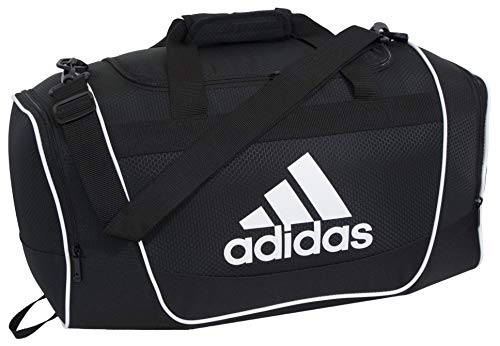 adidas Unisex Defender II Medium Duffel Bag, Black, ONE SIZE
