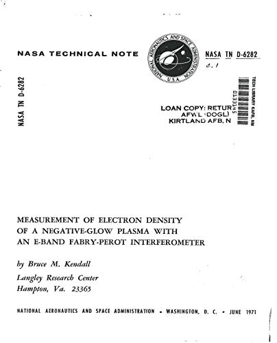 Measurement of electron density of a negative-glow plasma with an E-band Fabry-Perot interferometer (English Edition)