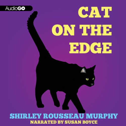 Cat on the Edge audiobook cover art