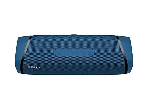 Sony SRS-XB43 - Altavoz Bluetooth Potente, con Luces, Extra Bass, Resistente al Agua, Polvo, óxido y Larga duración de batería de hasta 24h