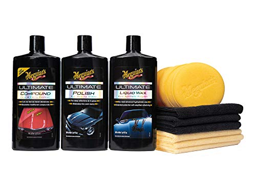 Meguiar's G55162 Ultimate 3 Step Paint Care Kit