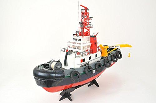 RC Boot Hafenschlepper, detailgetreu, mit Wasserspritzfunktion von Heng Long - 2,4Ghz